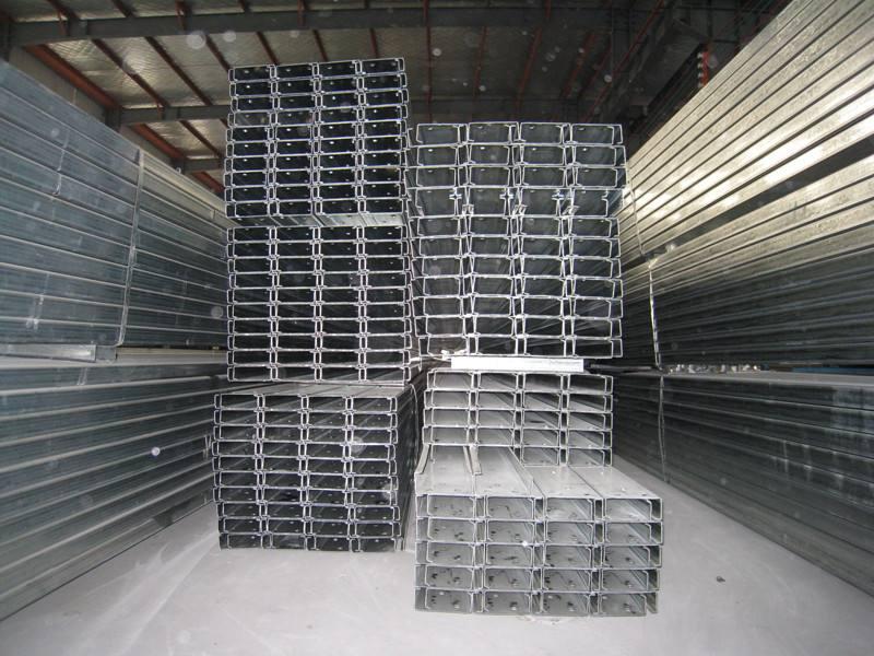 C型钢的镀锌层分析情况